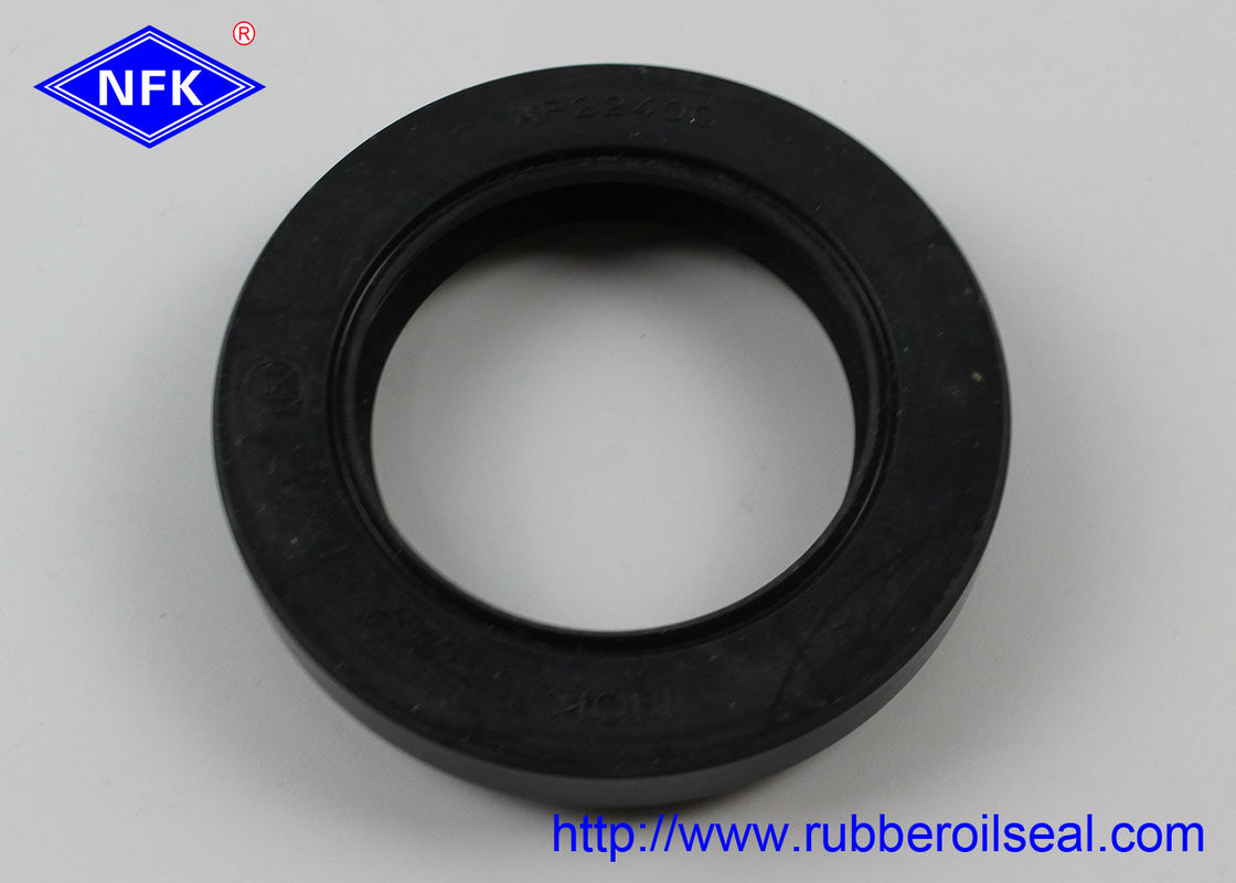 Rotary Vertical Shaft High Temp Oil Seals Rubber Material Black Color For Excavator