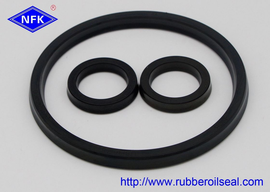 High Pressure Rubber Oil Seals , Rubber Hydraulic Industrial Oil Seals Durable