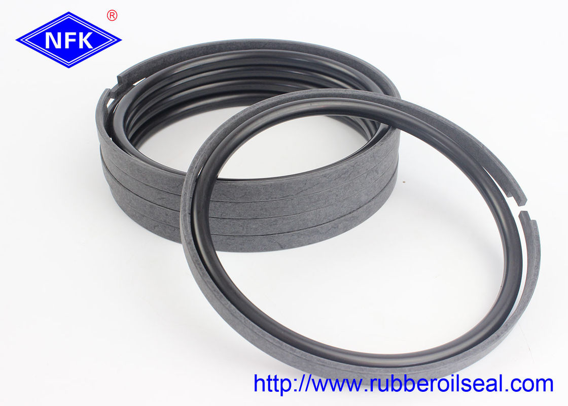 Bronze PTFE Hydraulic Piston Rings 30-90 Shore Hardness For CATERPILLAR Excavator