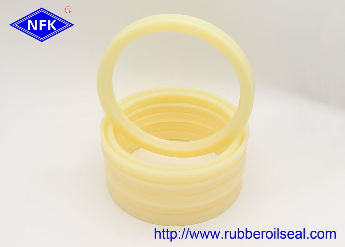 High Pressure Hydraulic O Rings Seals Yellow 110*130*12mm Size Wear Resistant