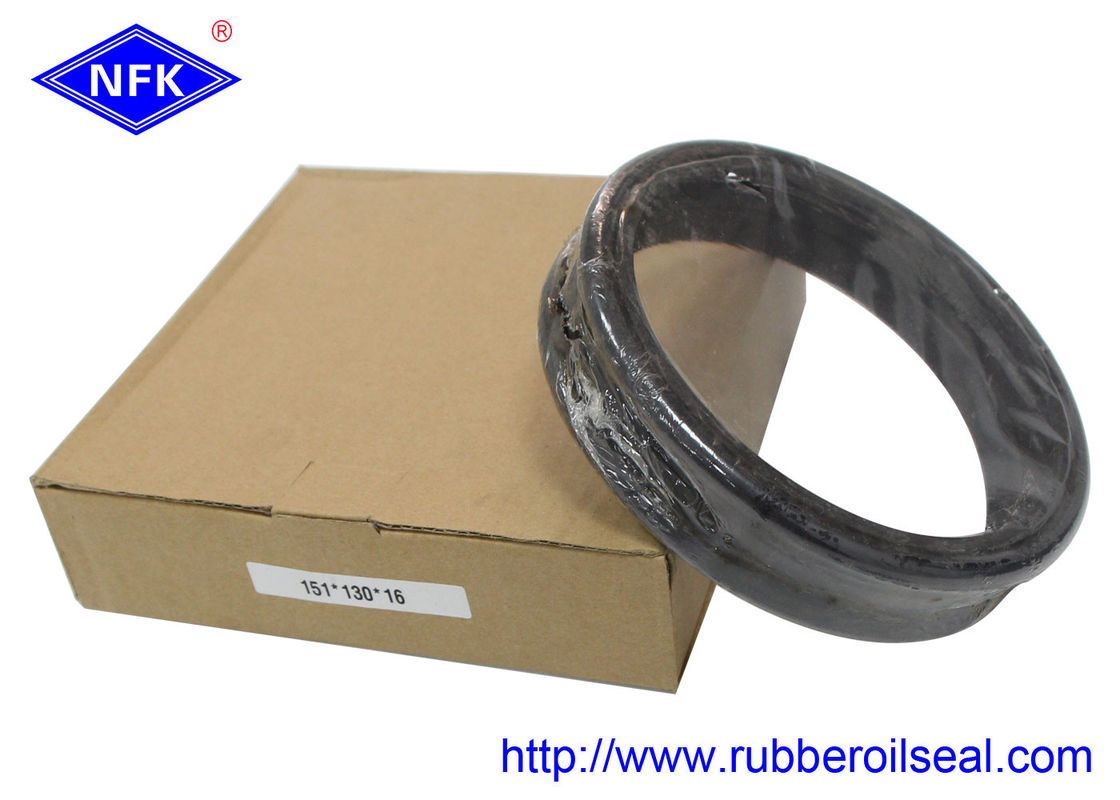 Bulldozer D85 Parts Floating Oil Seal , Rubber Piston Seals High Pressure Resistant